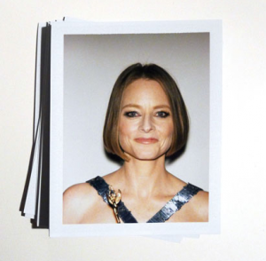 Jodie Foster at the 2013 Golden Globes. Photograph by Lucas Michael for New York magazine. (Click to enlarge.)